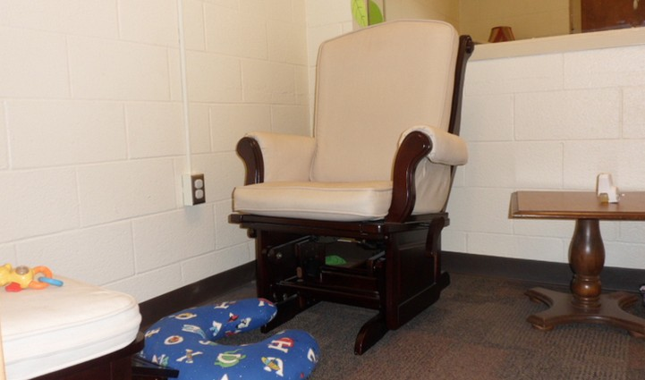 Breastfeeding room in child care